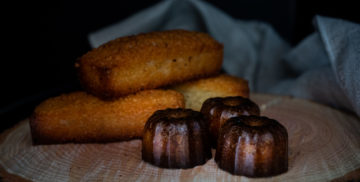 Cannelés bordelais et financiers